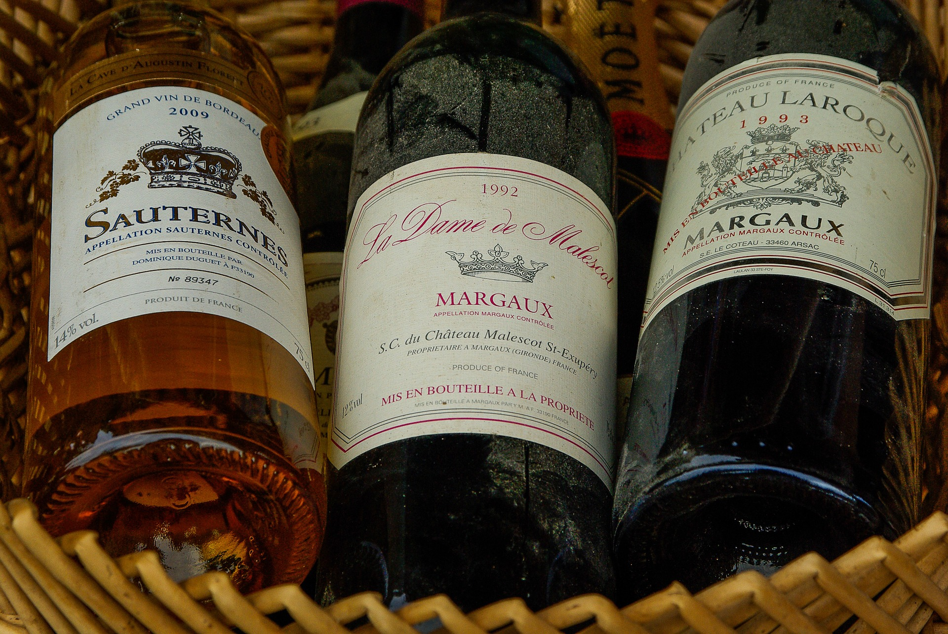 French wine bottles in phoenix